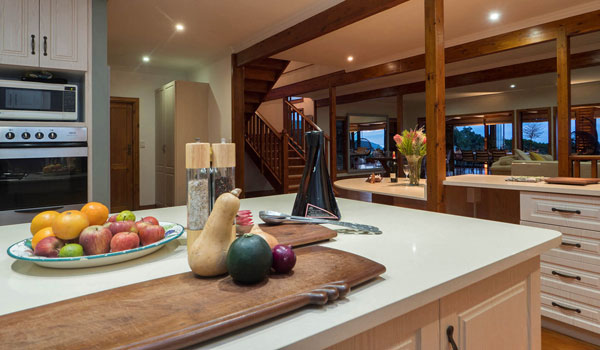 Wilderness Selfcatering Accommodation Kitchen - best self-catering kitchen in the Garden Route!
